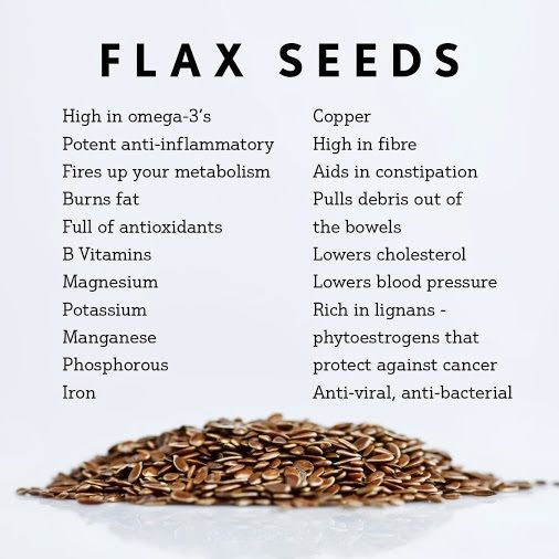 Flax seed oil for allergies