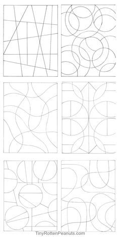 zentangling starter pages - Google Search