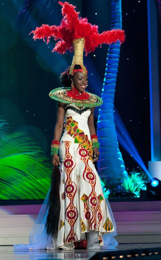 Miss Ghana, Miss Universe, Costume