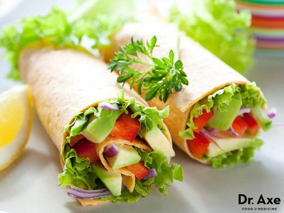 Avocado Salad Wrap Recipe