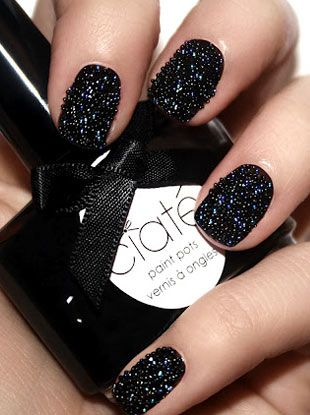 Fall '12 Trends: Caviar Manicure
