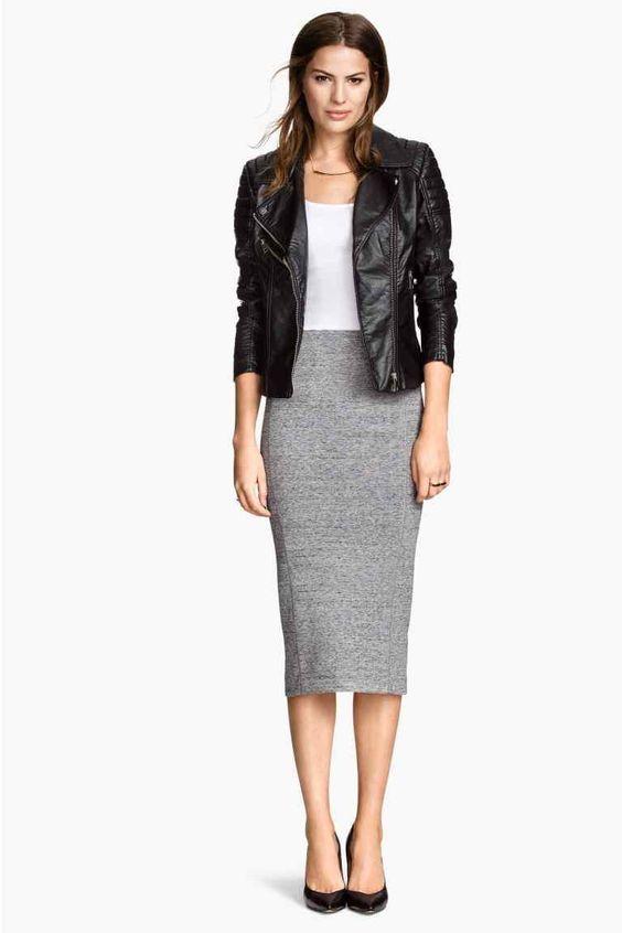 Falda de tubo | H&M