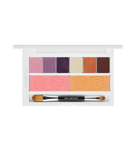 shu uemura – peach's eye and cheek palette