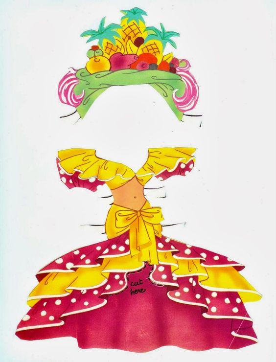 Bonecas de Papel: Betty Boop