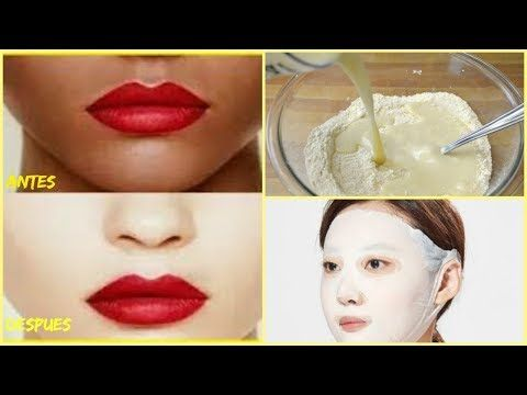 Como Blanquear La Cara En 15 Minutos Con Truco Coreano Youtube Como Blanquear Mascarillas Caseras Para El Cabello Mascarillas Para Cutis Graso