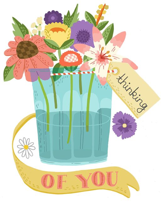 thinking of you  flower and sisters on pinterest thinking of you clipart to color thinking of you clip art for men