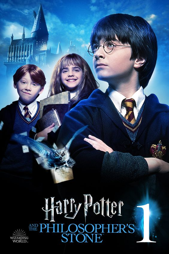 Philosopher S Stone Wizarding World Poster Harry Potter Fan Zone Harry Potter Full Movie Harry Potter Film Harry Potter Full