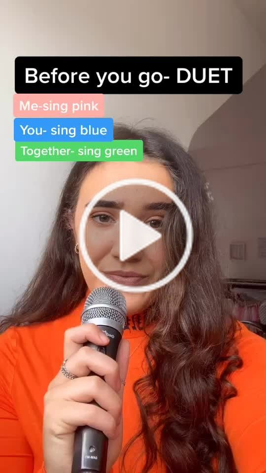 Emma White Officialemmawhite On Tiktok React To This Video Tag Me I Wanna See Best One Gets A Repost Lewiscapaldi Sing Cover Duet Singing Lewis