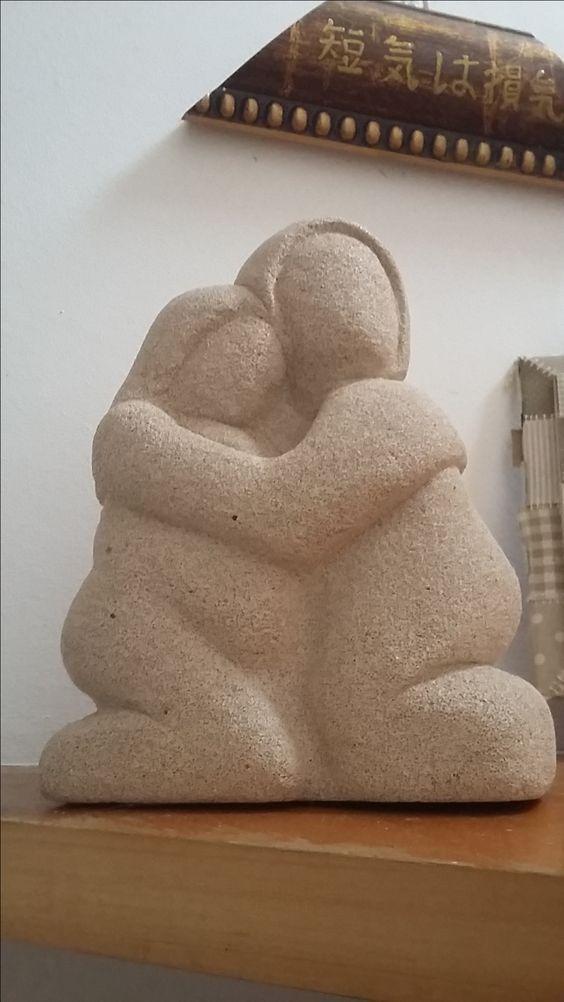 """""""sonho"""" - escultura em concreto celular - 2014"""