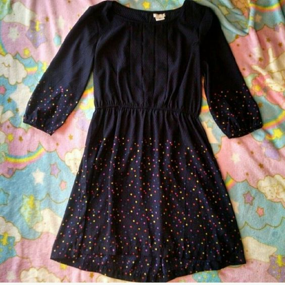 UO Navy Dress Never worn size medium Urban Outfitters Dresses