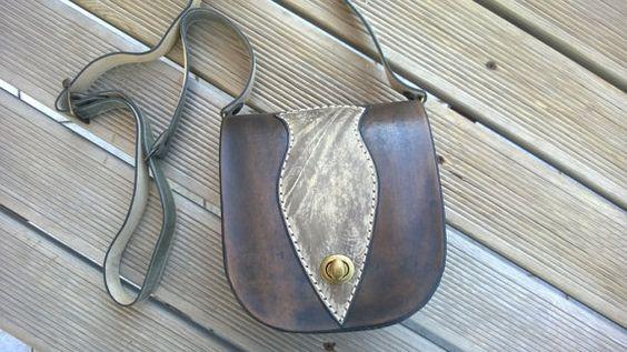 Designer handbags Leather crossbody bag Handmade by TheSacredWays