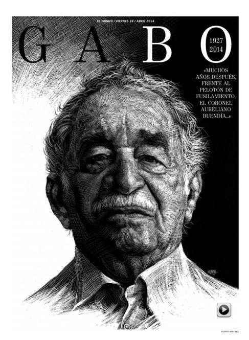 EL MUNDO también ofrece un suplemento de ocho páginas titulado 'Gabo'