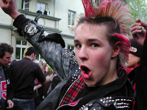 punk | The punk subculture emerged in the United Kingdom, the United States ...