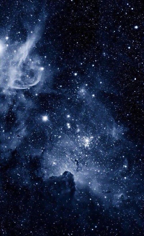 Paisajetumblr In 2020 Dark Blue Wallpaper Blue Galaxy Wallpaper
