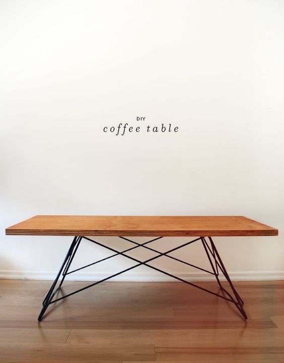 Diy Metal Base Coffee Table Metals Legs And Coffee