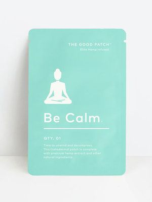 Be Calm Hemp-Infused Patch from The Good Patch // The Good Trade // #wellness #healthy #holistic #holisticwellness #gift #sustainable #sustainablegift