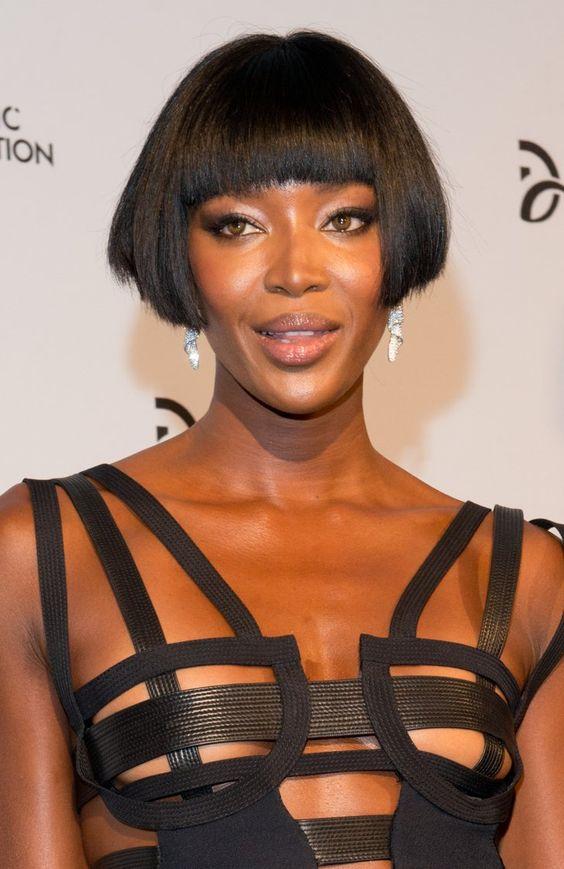 Pin for Later: Die schönsten Pony-Frisuren der Stars Naomi Campbell