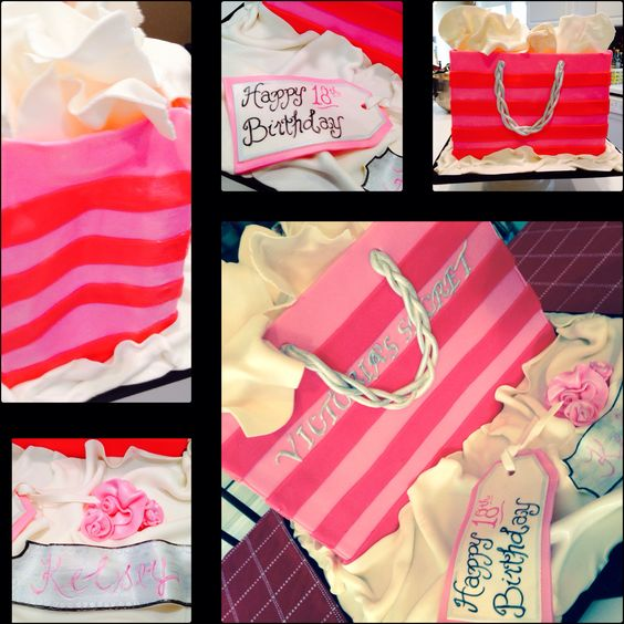 Victoria Secret inspired birthday cake
