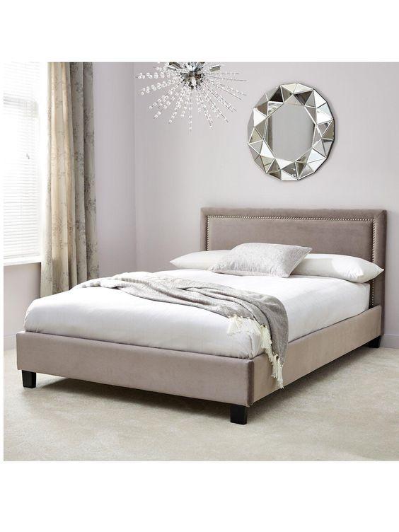 Pinterest the world s catalog of ideas for Studded bed frame