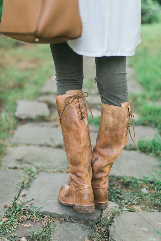 Laced Riding Boots   Blonde Expeditions