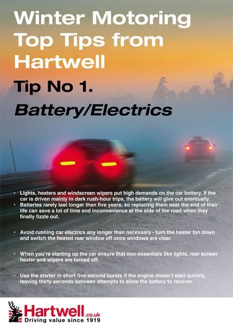 Winter Motoring Advice From Hartwell Plc Winter Cars Hartwell