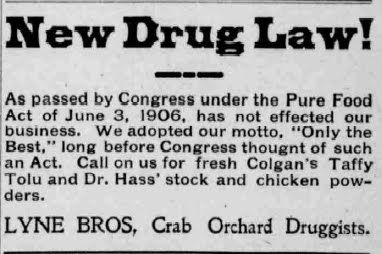 Pure Food And Drug Act Progressive Era