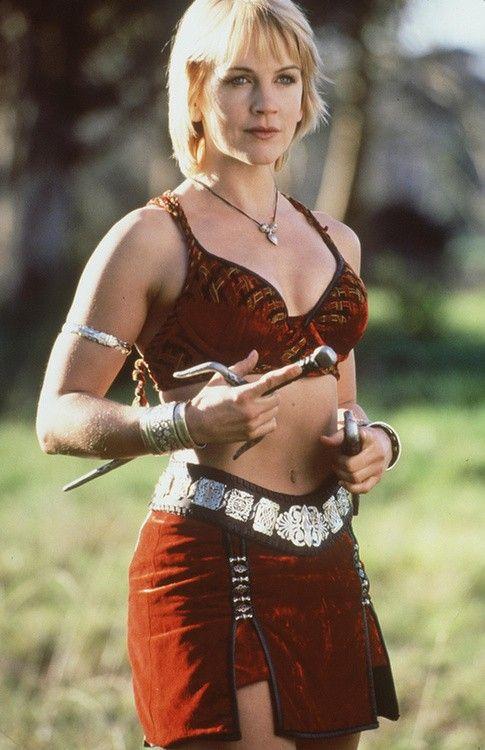 Renée O'Connor as Gabrielle (Xena: Warrior Princess)
