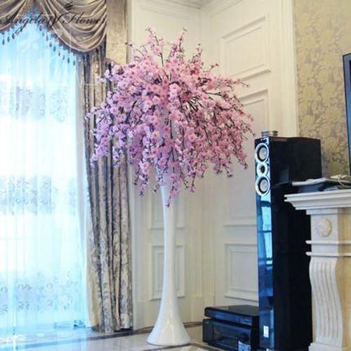 Artificial Flower Wedding Hotel Living Room Decoration Block Color Mix 20pcs Blossom House Color Mixin In 2021 Artificial Flowers Blossom House Artificial Plants Decor