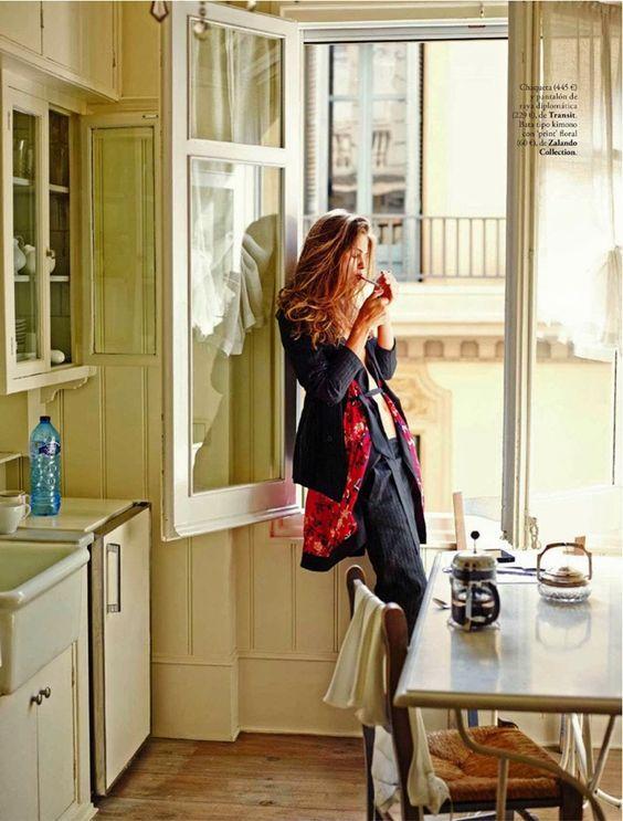 Lauren Auerbach by Riccardo Tinelli for Elle Spain November 2013