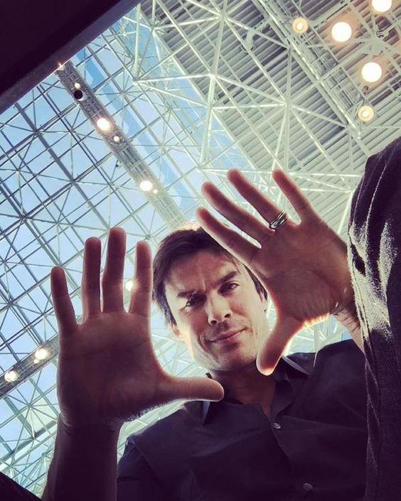 Ian Somerhalder at New York ComicCon