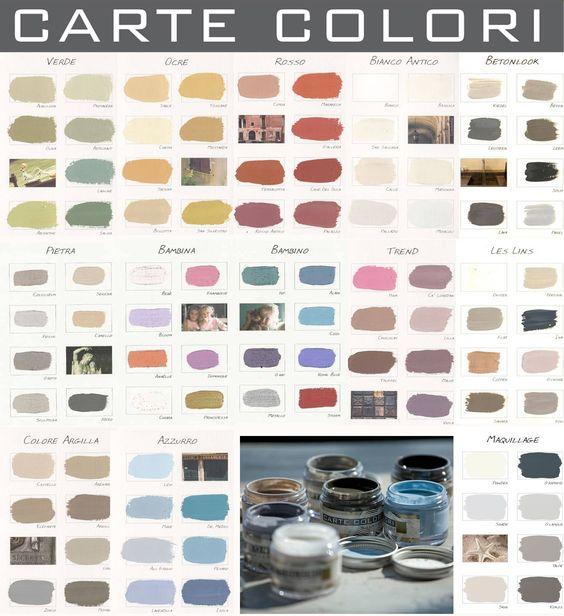 carte colori kleurenkaart verf pinterest tes om and van