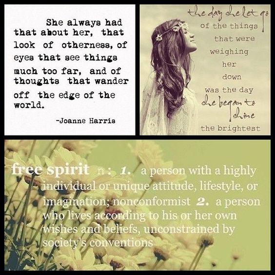 American Hippie Bohemian Quotes ~ Free Spirit