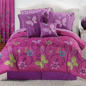 I want a queen size bed in a bag in purple and green - Bing Images