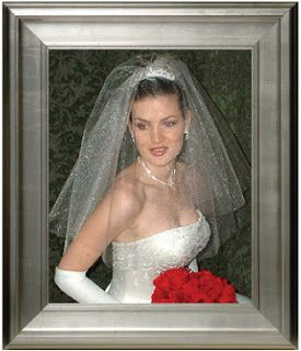 wedding hair with tiaras and veils