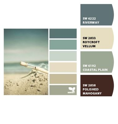 Paint colors from chip it by sherwin williams this is the color palate i want to use to for Sherwin williams exterior color palette