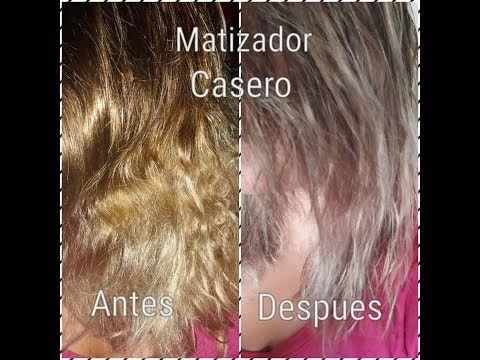 Como Hacer Un Matizador Casero Como Quitar El Cabello Amarillo Y Naranja Con Productos Faciles Youtube Blonde Hair Color Grunge Hair Hair Color