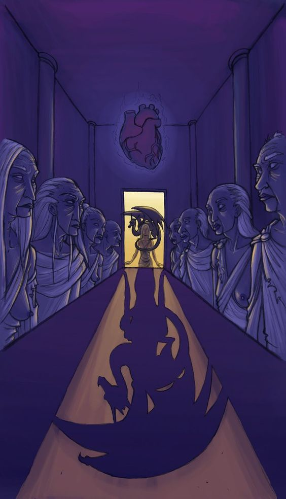 Daenerys en la Casa de los Eternos, por duskyrue