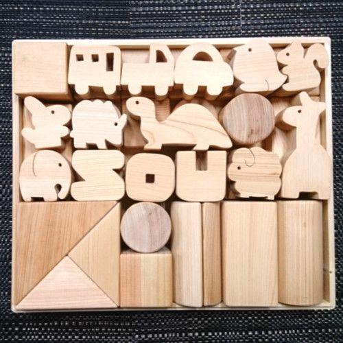 ティース Teeth 積み木 積み木 おもちゃ 木のおもちゃ