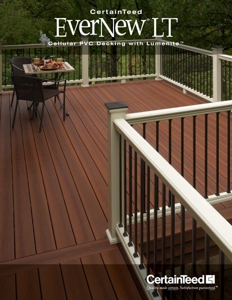 EverNew® LT Deck - Decking - Fence, Decking and Railing - CertainTeed