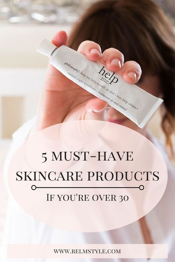 5 Must Have Skincare Products If You Re Over 30 The Relm Co Skin Care Skin Care Pimples Skin Care Advices