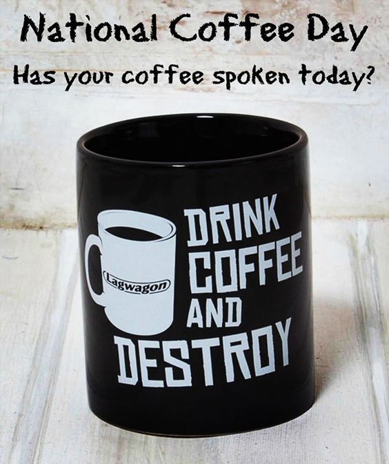 #lagwagon Coffee Day