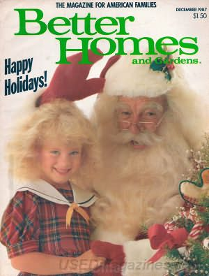 better homes and gardens magazine december 1987 back issues past issues and used magazines