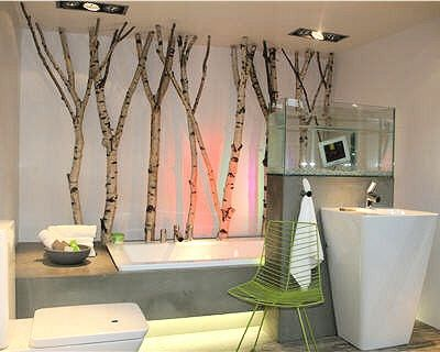 Univers d co salle de bain nature zen pinterest nature for Deco murale quebec