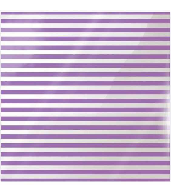 """Clearly Bold Acetate Sheets 12""""X12""""-Neon Purple Stripe"""