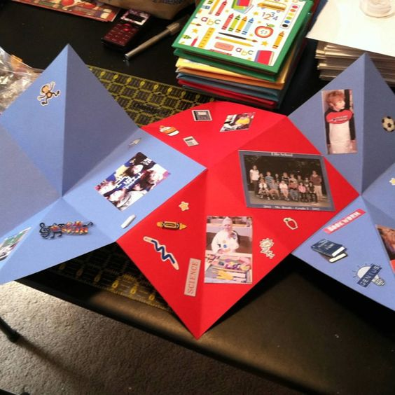 Pop up scrapbook