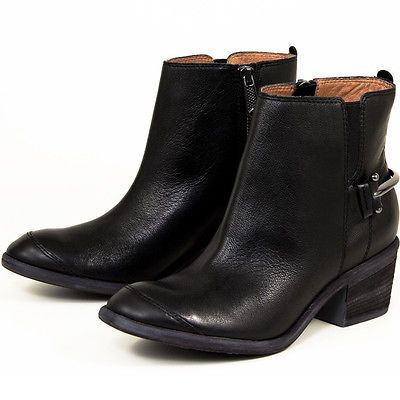 "Details about womens DONALD J PLINER ""digg"" ankle boot low heel ..."