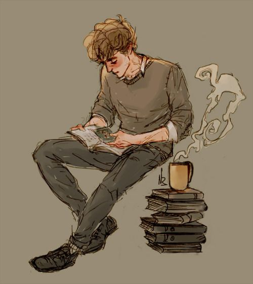 snowandbaz:  this is simon snow   (note: the artist/attribution seems to have gotten lost somewhere, so here it isfrom what I can tell):