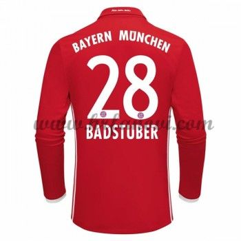 Bayern Munich Nogometni Dresovi 2016-17 Badstuber 28 Domaći Dres Dugim Rukavima Komplet