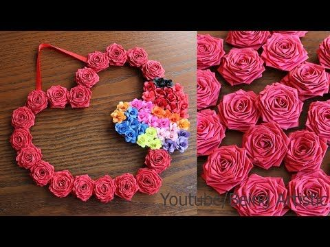 Diy Paper Wall Hanging Craft Ideas Paper Craft Wall