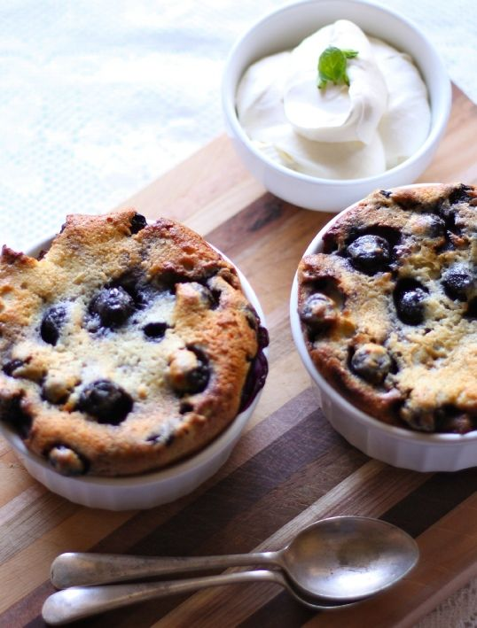 - Low FODMAP Recipe and Gluten Free Recipe - Blueberry clafoutis ...
